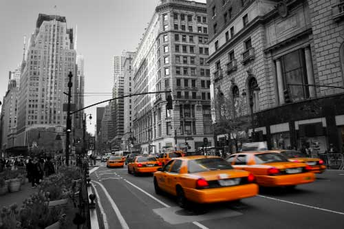 NYC yellow cabs